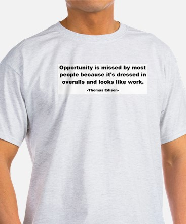 Opportunity is missed Thomas T-Shirt