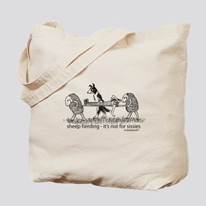Sheep Herding Tote Bag