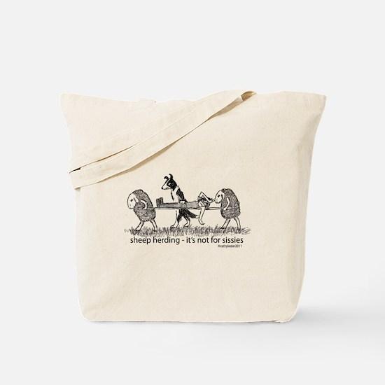 Sheep Herding Tote Bag
