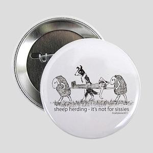 "Sheep Herding 2.25"" Button"