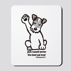 Jack Russell Terrier Pal Mousepad