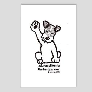 Jack Russell Terrier Pal Postcards (Package of 8)
