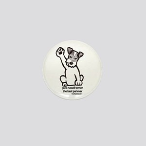 Jack Russell Greeting Mini Button