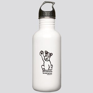 Jack Russell Greeting Stainless Water Bottle 1.0L