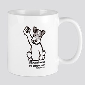 Jack Russell Greeting Mug