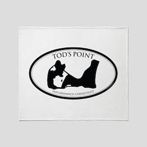 Tod's Point Throw Blanket