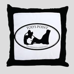 Tod's Point Throw Pillow