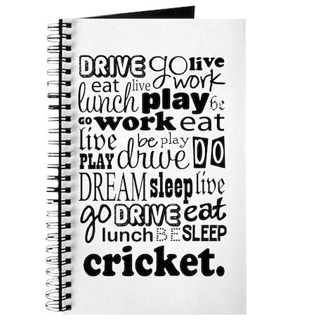 Cricket Gift Journal