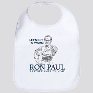 Ron Paul Get To Work Bib