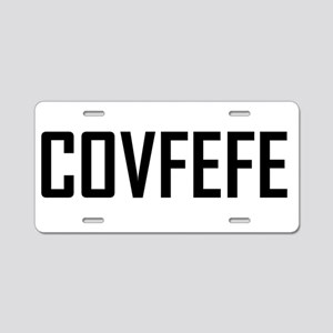 covfefe Aluminum License Plate