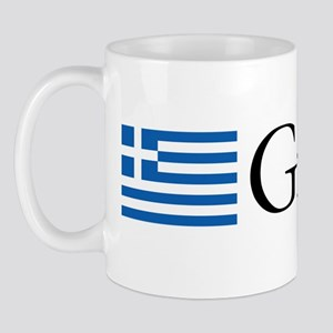 Greece Flag Mug