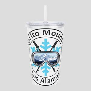 Pajarito Mountain - Acrylic Double-wall Tumbler