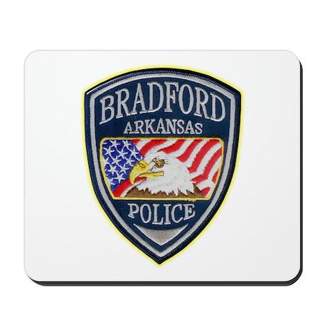 Bradford Police Department Mousepad by militaryandpoliceshop