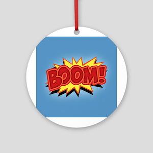 Boom! Ornament (Round)