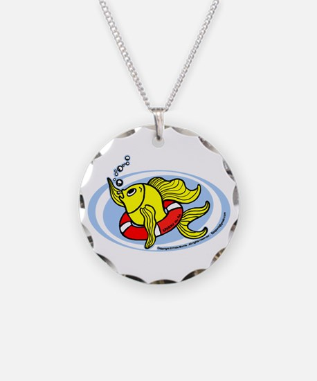 Help Fish Necklace