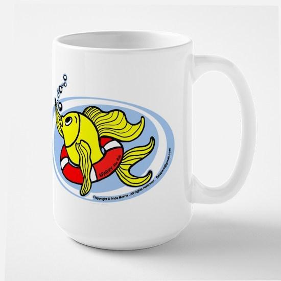 Help Fish Large Mug