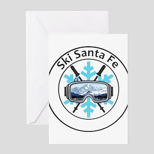 Ski Santa Fe - Santa Fe - New Mex Greeting Cards