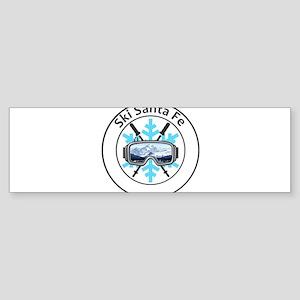 Ski Santa Fe - Santa Fe - New Mex Bumper Sticker
