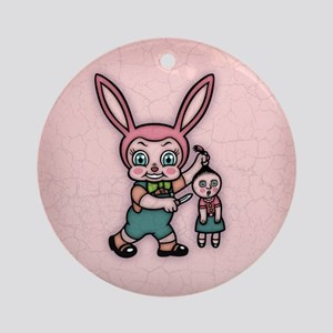 Or the Doll Gets It! Ornament (Round)