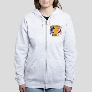 WAC Veteran Women's Zip Hoodie