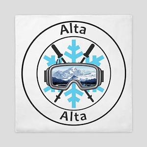 Alta - Alta - Utah Queen Duvet