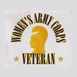 WAC Veteran Throw Blanket
