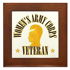 WAC Veteran Framed Tile