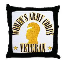 WAC Veteran Throw Pillow