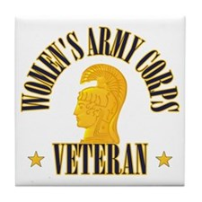 WAC Veteran Tile Coaster