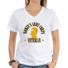 WAC Veteran Women's V-Neck T-Shirt