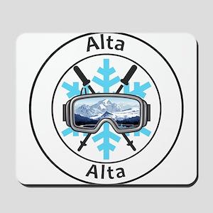 Alta - Alta - Utah Mousepad
