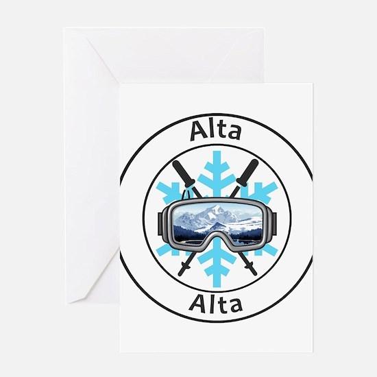 Alta - Alta - Utah Greeting Cards