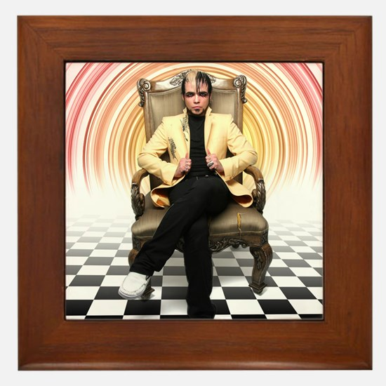 Lukas Rossi Photo Framed Tile