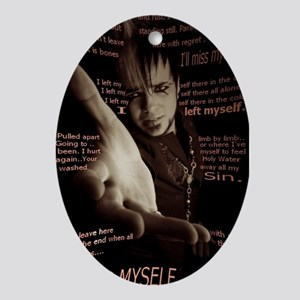 Lukas Rossi Photo Oval Ornament