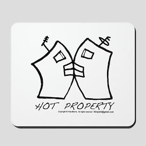 HOT PROPERTY , B-L-DING Mousepad