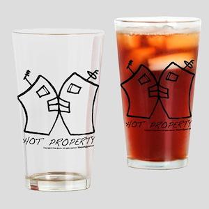 HOT PROPERTY , B-L-DING Pint Glass