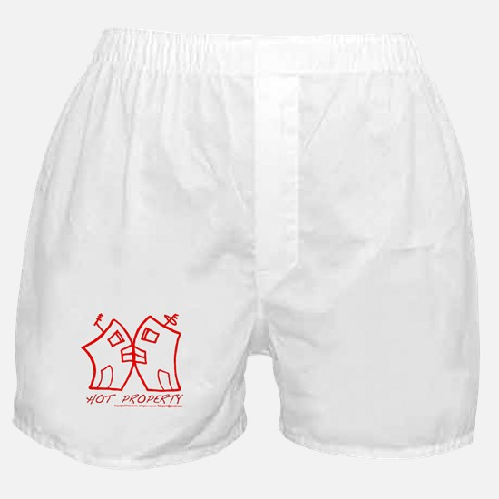 HOT PROPERTY , B-L-DING Red Boxer Shorts