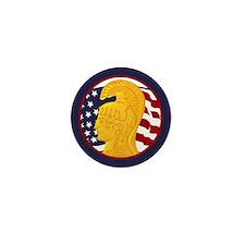 WAC Veteran Mini Button