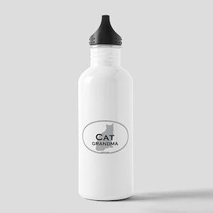 House Cat Grandma Stainless Water Bottle 1.0L
