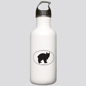 Manx Silhouette Stainless Water Bottle 1.0L