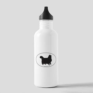Norwegian Forest Silhouette Stainless Water Bottle