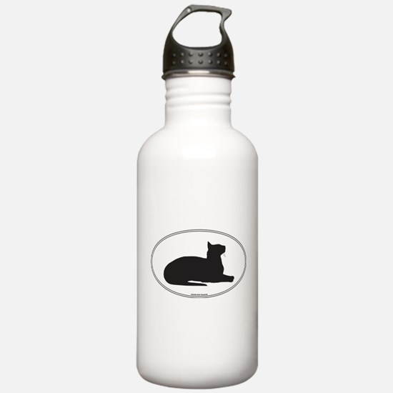 Oriental Silhouette Sports Water Bottle
