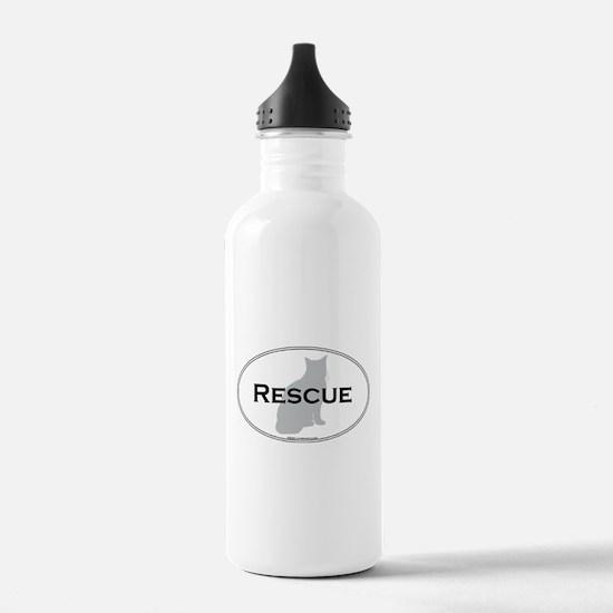 Rescue Cat Water Bottle