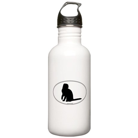 Scottish Fold Silhouette Stainless Water Bottle 1.