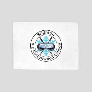 Brighton - Big Cottonwood Canyon 5'x7'Area Rug