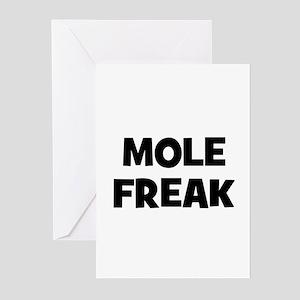 Mole Freak Greeting Cards (Pk of 10)