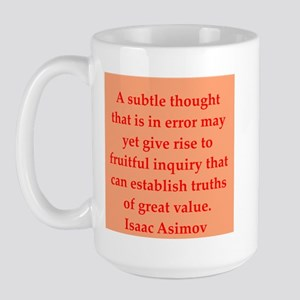 Isaac Asimov quotes Large Mug