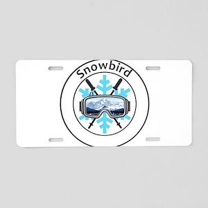 Snowbird - Snowbird - Uta Aluminum License Plate