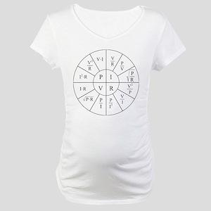 Ohm Wheel Maternity T-Shirt