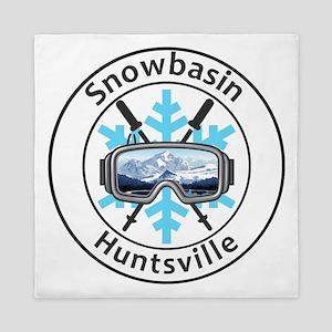 Snowbasin - Huntsville - Utah Queen Duvet